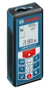 Bosch GLM 80 mit Display im Hochformat
