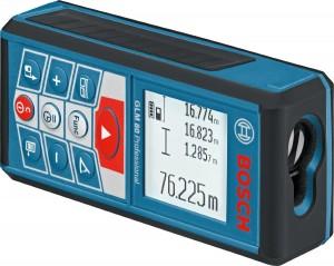 Bosch GLM 80 mit Display im Querformat