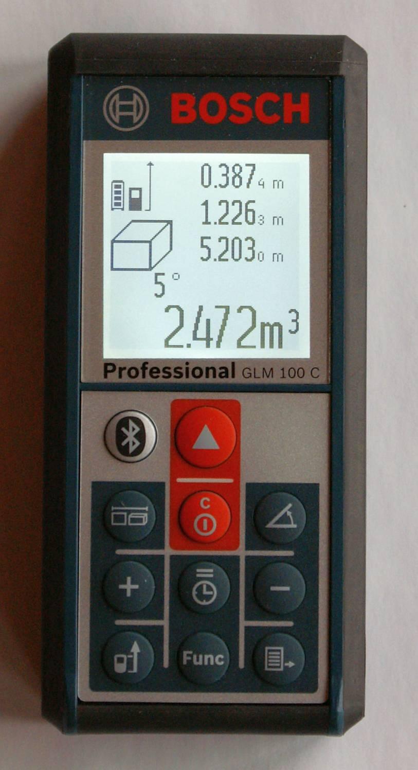 Bosch GLM 100 C hochkant