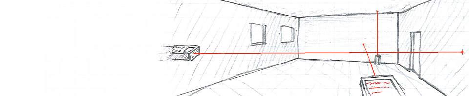 Laserentfernungsmesser-Test