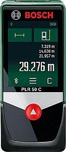Display des PLR 50 C Touchscreens
