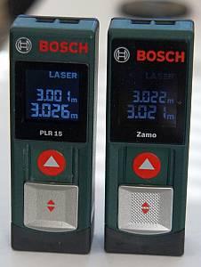 Vergleich Bosch Zamo mit PLR 15