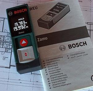Bosch Zamo max Distanz