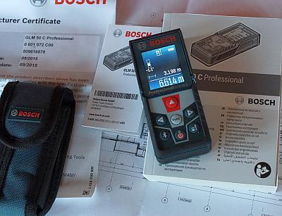 Laser Entfernungsmesser Glm 50 C Professional : Test des bosch glm c professional mit bravour geschlagen