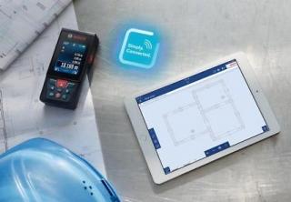 Bosch glm c test des entfernungsmessers für aussen dank kamera