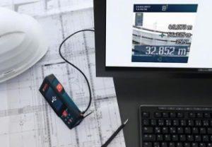 Übertragen der Fotos vom GLM 120 C auf den PC