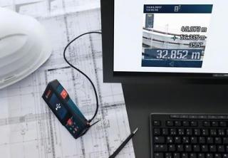 Bosch Entfernungsmesser Glm 50 C Test : Bosch glm c test des entfernungsmessers für aussen dank kamera