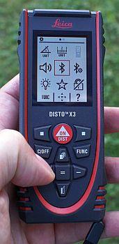 Einstellungen des DISTO X3