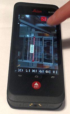 LEICA BLK3D mit automatischer Vermassung von parallelen Linien